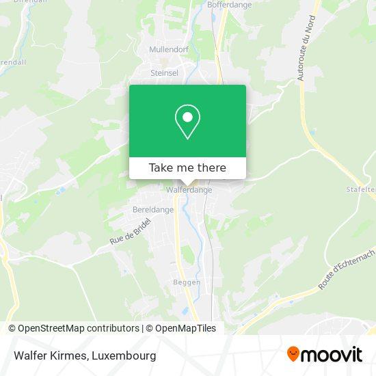 Walfer Kirmes map