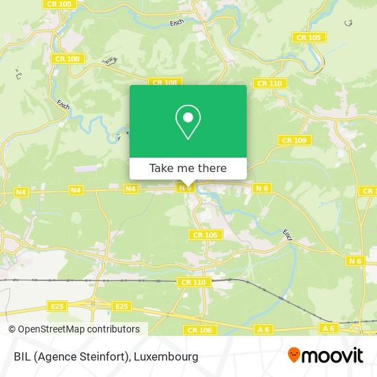 BIL (Agence Steinfort) map