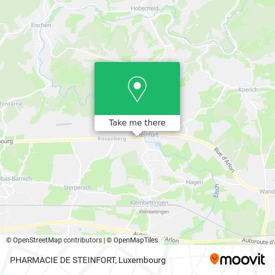 PHARMACIE DE STEINFORT map