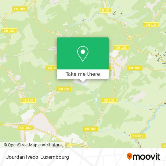 Jourdan Iveco map