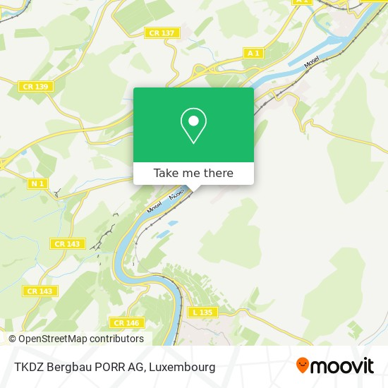 TKDZ Bergbau PORR AG map