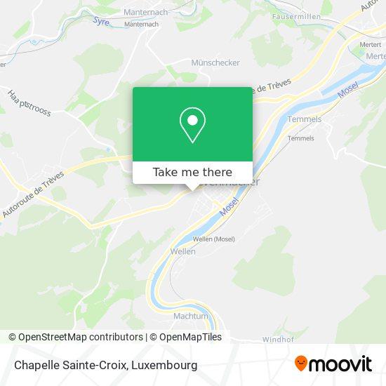 Chapelle Sainte-Croix map