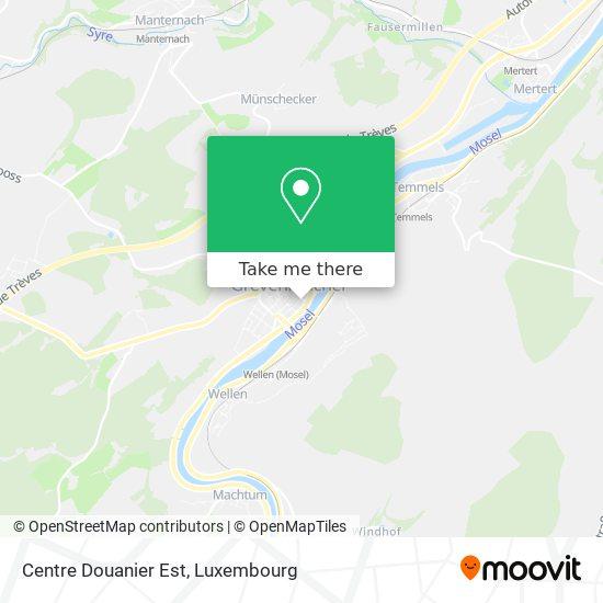 Centre Douanier Est map