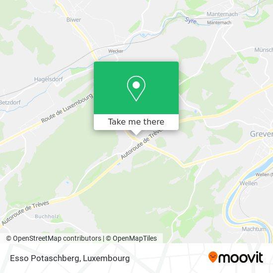 Esso Potaschberg map