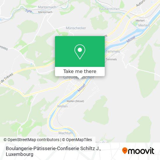 Boulangerie-Pâtisserie-Confiserie Schiltz J. map