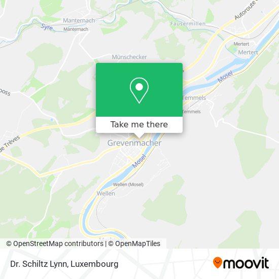 Dr. Schiltz Lynn map