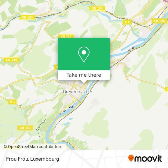 Frou Frou map