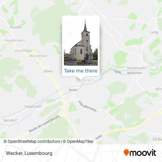 Wecker map