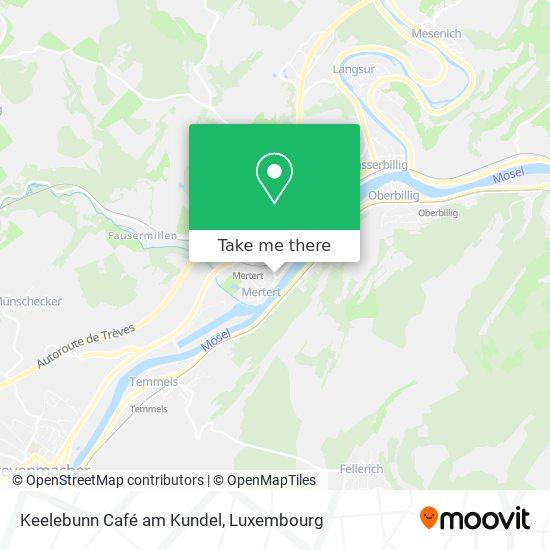 Keelebunn Café am Kundel map