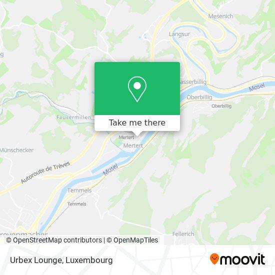 Urbex Lounge map