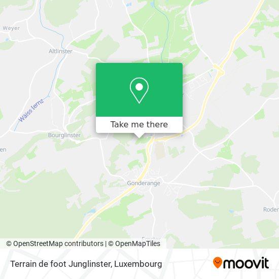 Terrain de foot Junglinster map