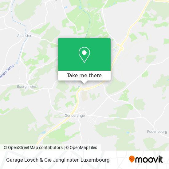 Garage Losch & Cie Junglinster map