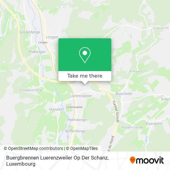 Buergbrennen Luerenzweiler Op Der Schanz map