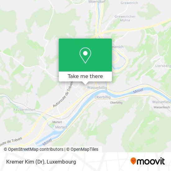Kremer Kim (Dr) map