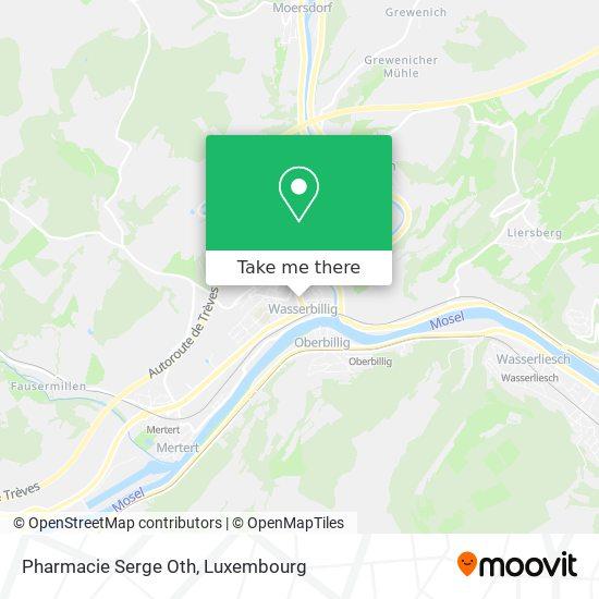 Pharmacie Serge Oth map
