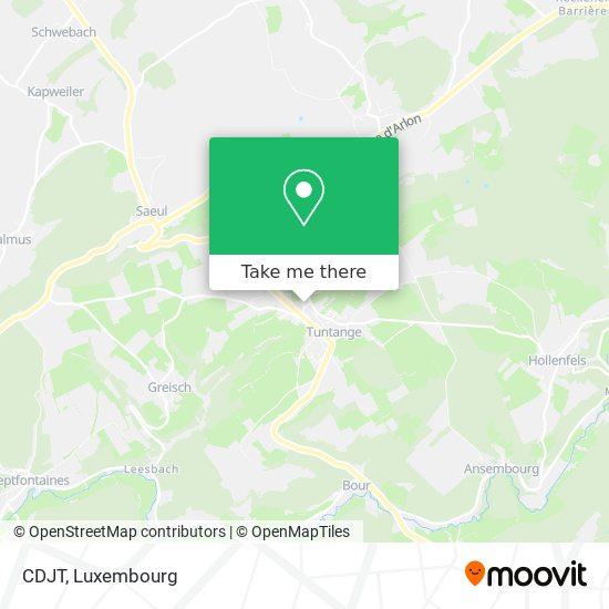 CDJT map