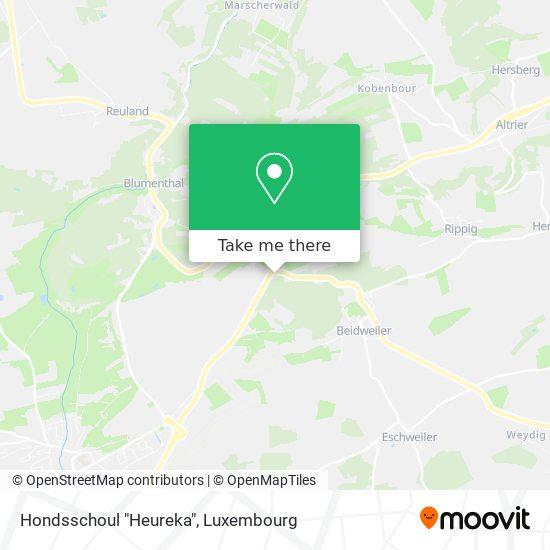 "Hondsschoul ""Heureka"" map"