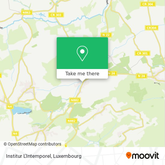 Institur L'Intemporel map