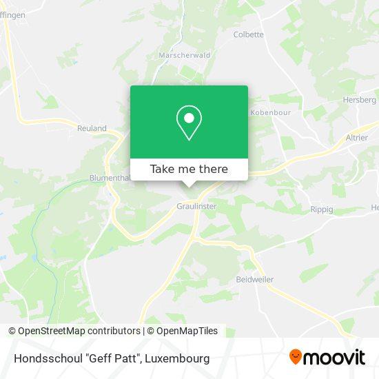 "Hondsschoul ""Geff Patt"" map"