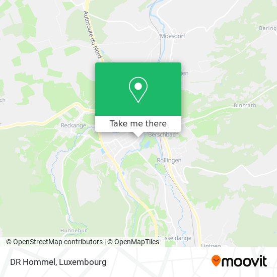 DR Hommel map