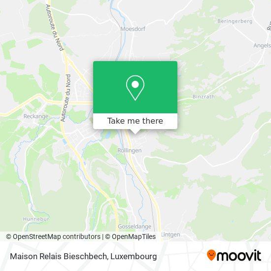 Maison Relais Bieschbech map