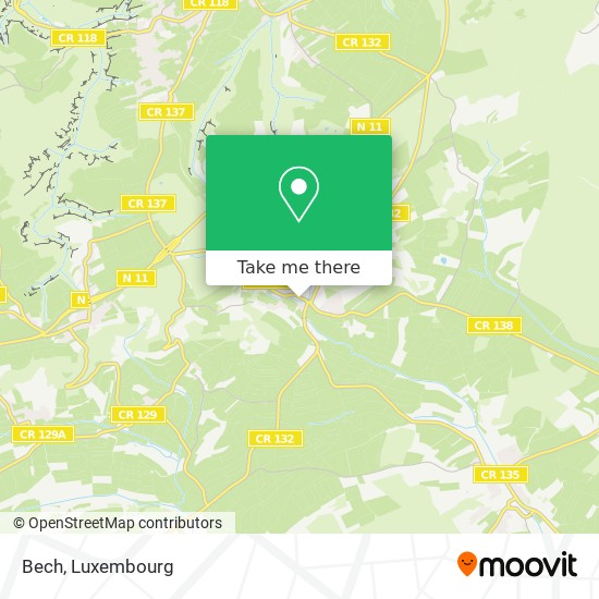 Bech map