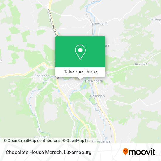 Chocolate House Mersch map