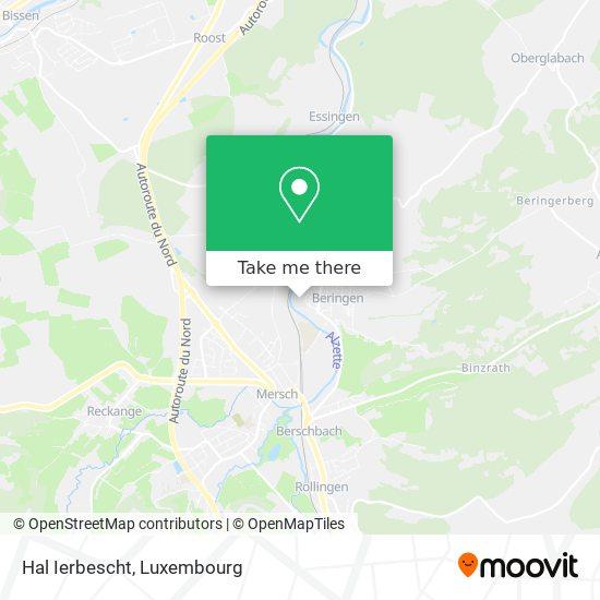 Hal Ierbescht map