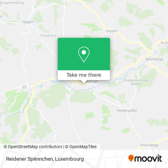 Reidener Spënnchen map
