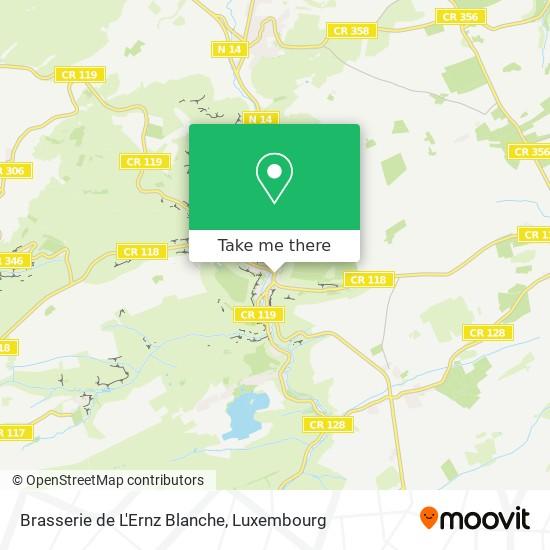 Brasserie de L'Ernz Blanche map