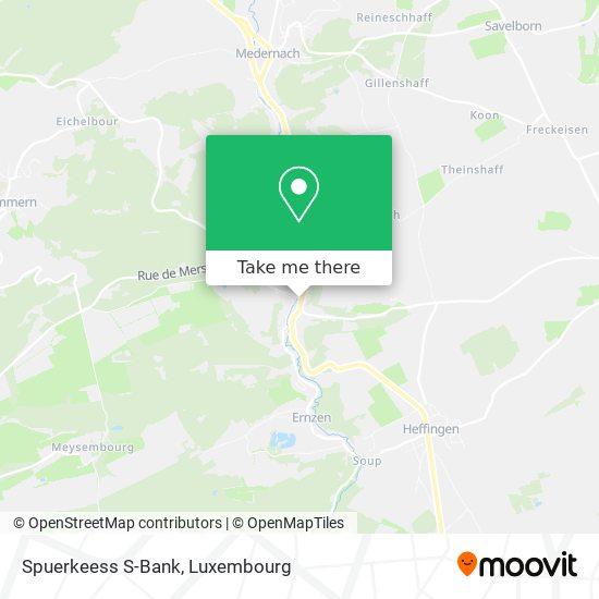Spuerkeess S-Bank map