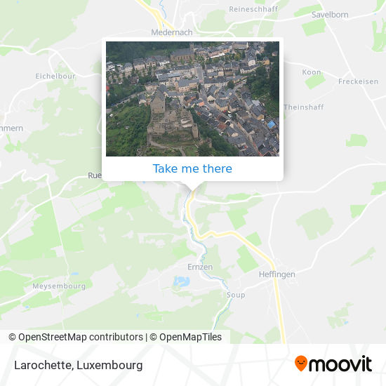Larochette map