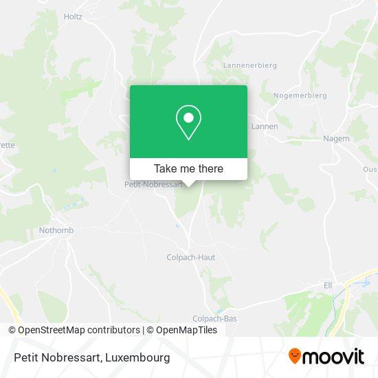 Petit Nobressart map