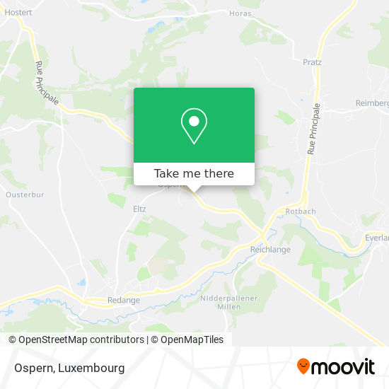 Ospern map