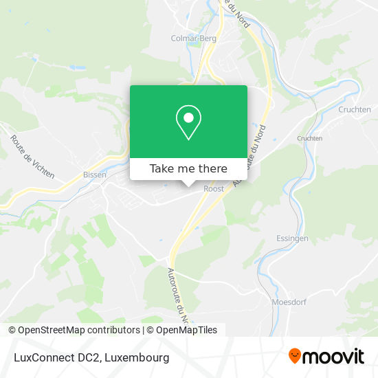 LuxConnect DC2 map