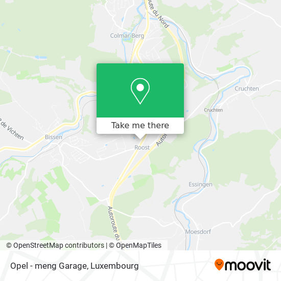 Opel - meng Garage map