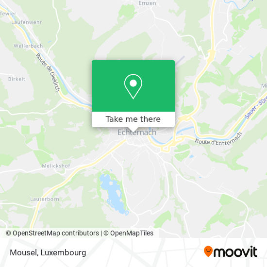 Mousel map