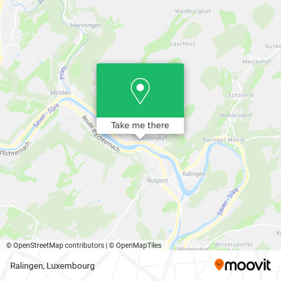 Ralingen map
