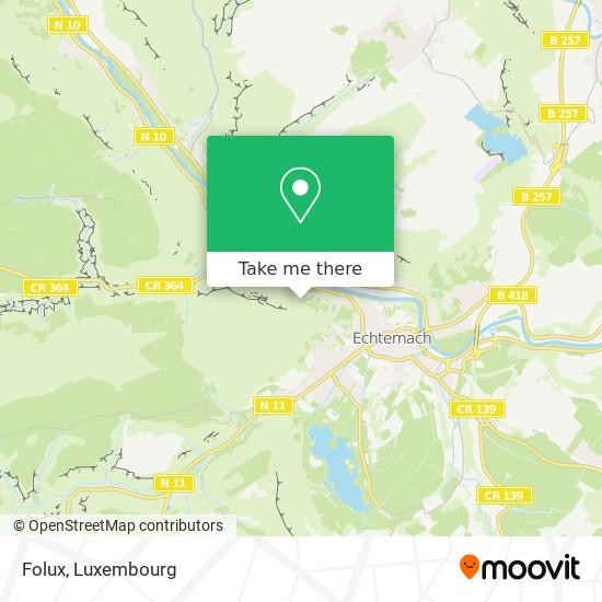 Folux map