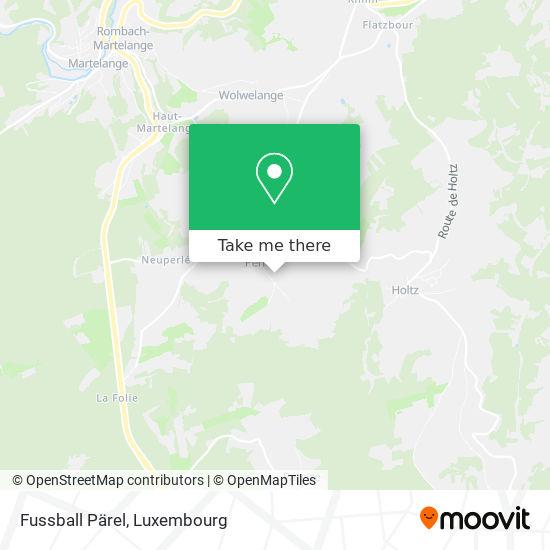 Fussball Pärel map