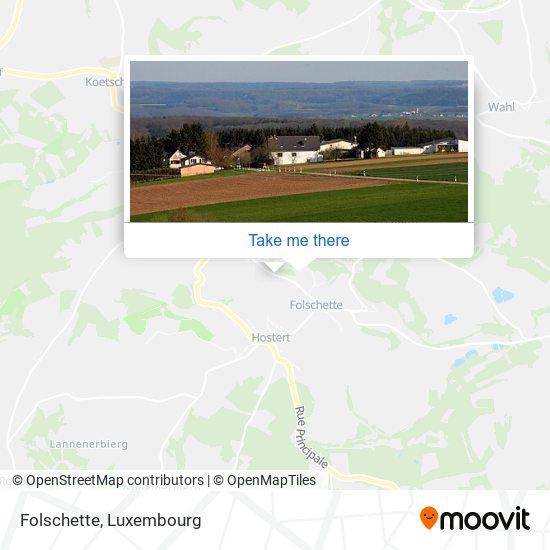 Folschette map