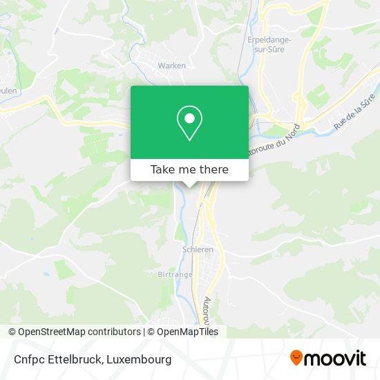Cnfpc Ettelbruck map