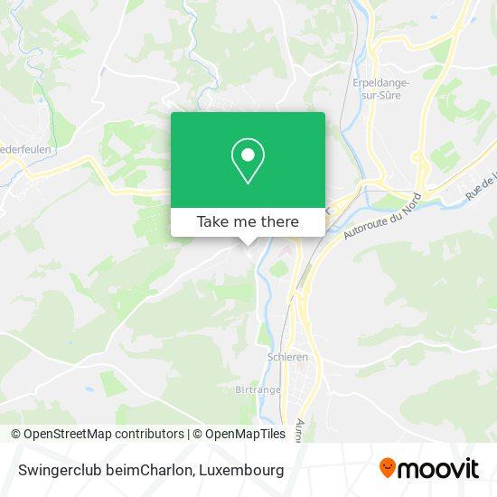 Swingerclub beimCharlon map
