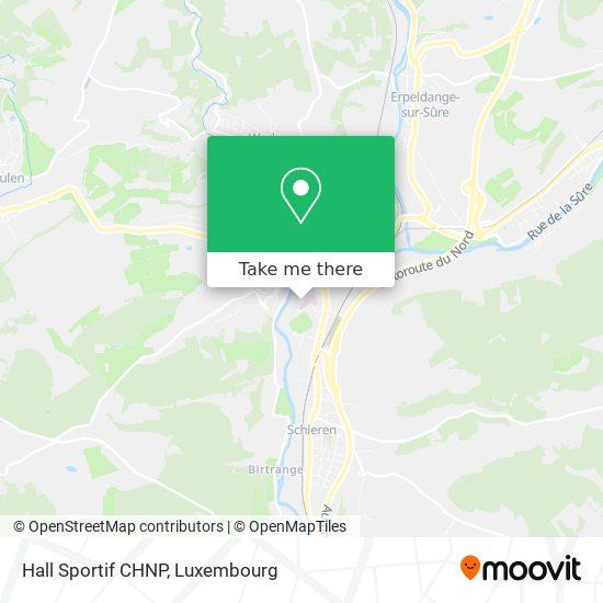 Hall Sportif CHNP map