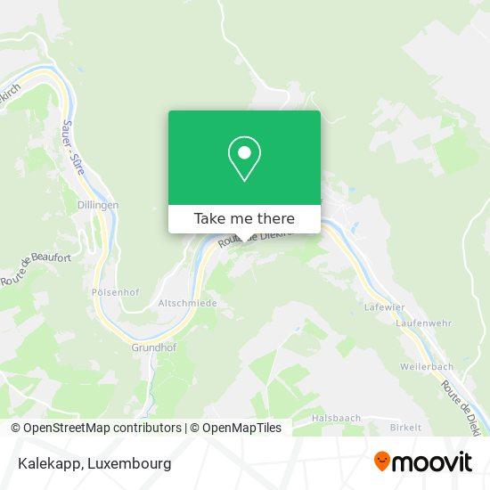 Kalekapp map