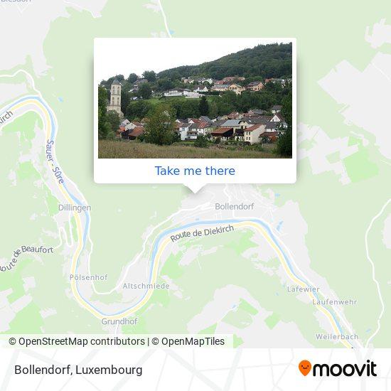 Bollendorf map