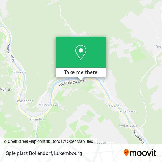 Spielplatz Bollendorf map
