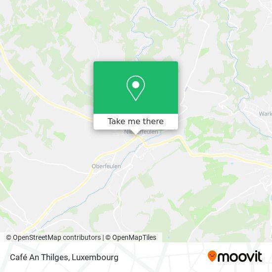 Café An Thilges map