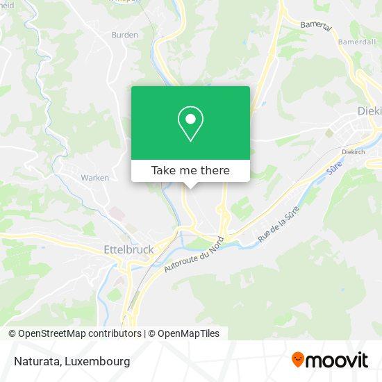 Naturata map