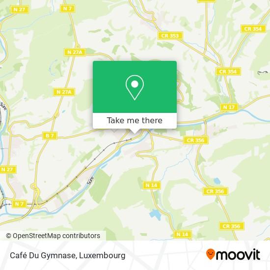 Café Du Gymnase mapa